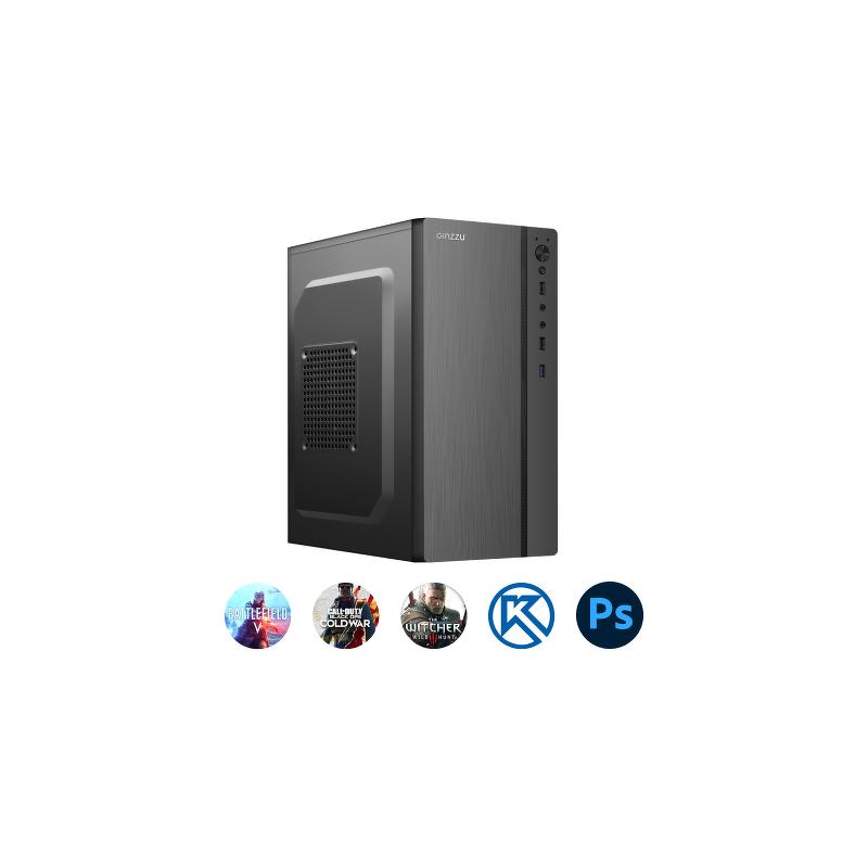 Компьютер Зеон для актуальных игр, систем проектирования, работы с фото [K01] Дисконт A